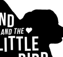 The Hound and the Little Bird Sticker