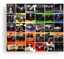 Camera Collage I Canvas Print