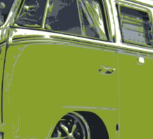 Funky VW Camper Van Sticker