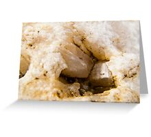 raw quartz-kennilworth qld mary river  Greeting Card