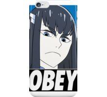 Obey Satsuki Kiryuin iPhone Case/Skin