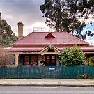 Captains Flat  Post Office NSW Australia  by Kym Bradley