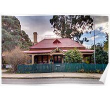 Captains Flat  Post Office NSW Australia  Poster