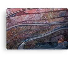 Broken Hill mine Canvas Print