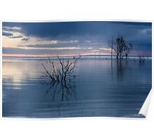 Blue Lake Menindee Poster