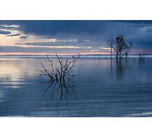 Blue Lake Menindee Photographic Print