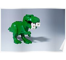 Beware of dinosaurs Poster