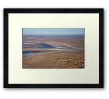Lake Eyre, the heart of Australia Framed Print