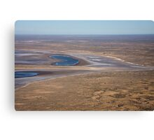 Lake Eyre, the heart of Australia Canvas Print