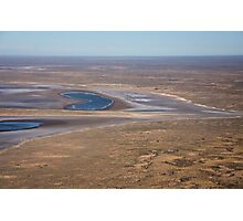 Lake Eyre, the heart of Australia Photographic Print
