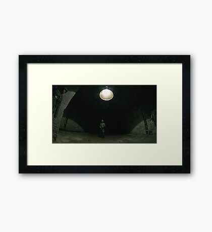 My Mistake. Wrong Room. Framed Print