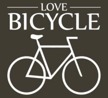 Love Bicycle Bicycle (dark) by KraPOW