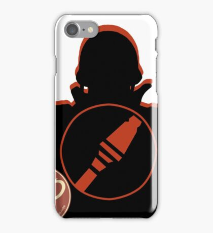 RED Soldier - Team Fortress 2 iPhone Case/Skin