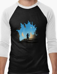 Fus Ro DOS! Men's Baseball ¾ T-Shirt