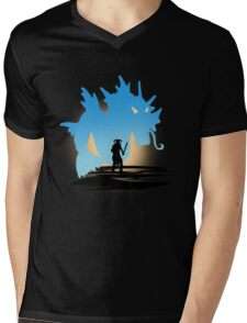 Fus Ro DOS! Mens V-Neck T-Shirt