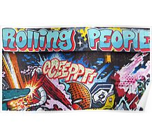 Rolling People by Cceeppt Poster