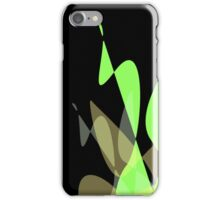 Green & Black Graphic iPhone/iPod & iPad iPhone Case/Skin