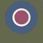 Vintage Look WW2 British Royal Air Force Roundel by VintageSpirit