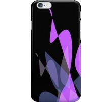 Purple & Black Graphic iPhone/iPod & iPad iPhone Case/Skin
