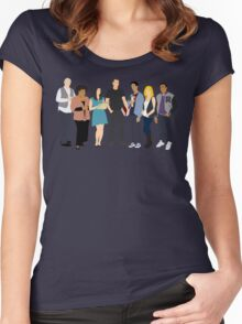 The Study Group Women's Fitted Scoop T-Shirt
