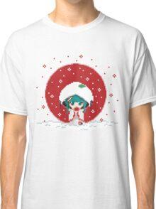 Snow Miku - Strawberry Kimono Classic T-Shirt