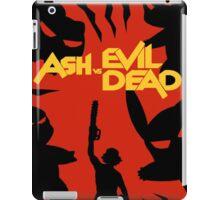 ash vs. evil dead pokemon iPad Case/Skin