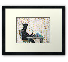 IMMUTABLE CAUSE AND ADAMANT CONSEQUENCE Framed Print