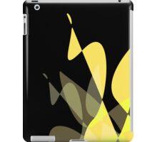 Yellow & Black Graphic iPhone/iPod & iPad iPad Case/Skin