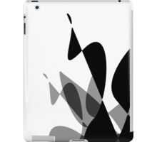 (Inverted) Black & White Graphic iPhone/iPod & iPad iPad Case/Skin