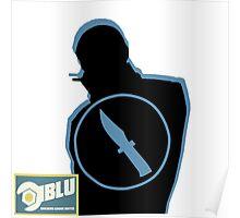 BLU Spy - Team Fortress 2 Poster