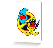 GB PACk-MAN (Cab Colors) v.2 Greeting Card