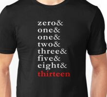 Fibonacci - Numbers Tee Unisex T-Shirt
