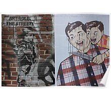 Art rules the Nolita streets, NYC Poster