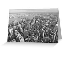 To the east, Empire State Building, NYC Greeting Card