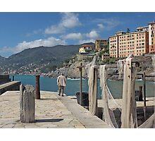 FISHING NETS... MARE LIGURIA - ITALIA - EUROPA -VETRINA RB EXPLORE 19 LUGLIO 2013 - Photographic Print