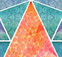 Pyramids Of Ghiza by Pom Graphic Design