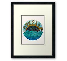 Oceania Framed Print