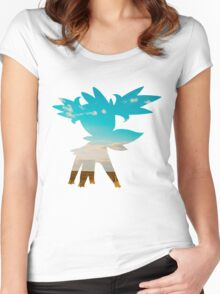 Shaymin (Sky forme) used tailwind Women's Fitted Scoop T-Shirt