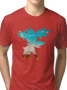Shaymin (Sky forme) used tailwind Tri-blend T-Shirt