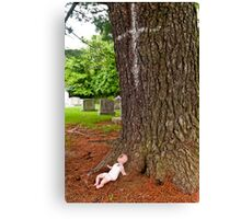 Offering Baby Canvas Print
