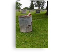 Garbage Baby Canvas Print