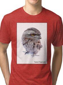 Tawny Frogmouth Tri-blend T-Shirt