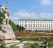 Mirabell Gardens in Salzburg by karina5