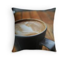 Simple Coffee Throw Pillow