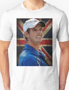 Andy Murray British Flag T-Shirt