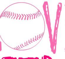 Live, Love, Softball Sticker