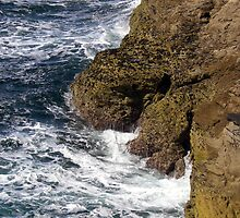 UK Coastal Cliff by Fattom25