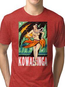 Kowabunga! Tri-blend T-Shirt