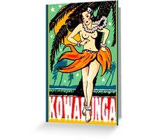 Kowabunga! Greeting Card