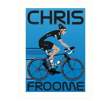 Chris Froome Art Print